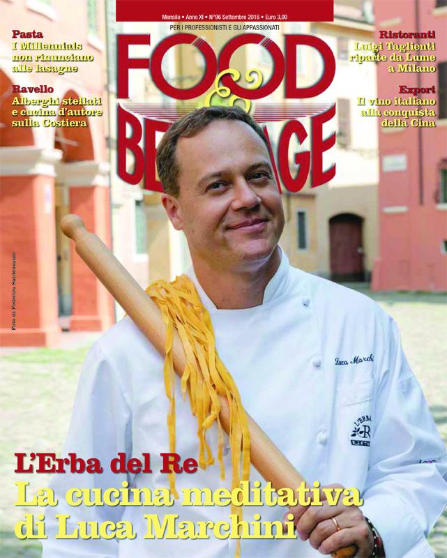 """Luca Marchini, Chef of """"L'Erba del Re"""" - Modena"""