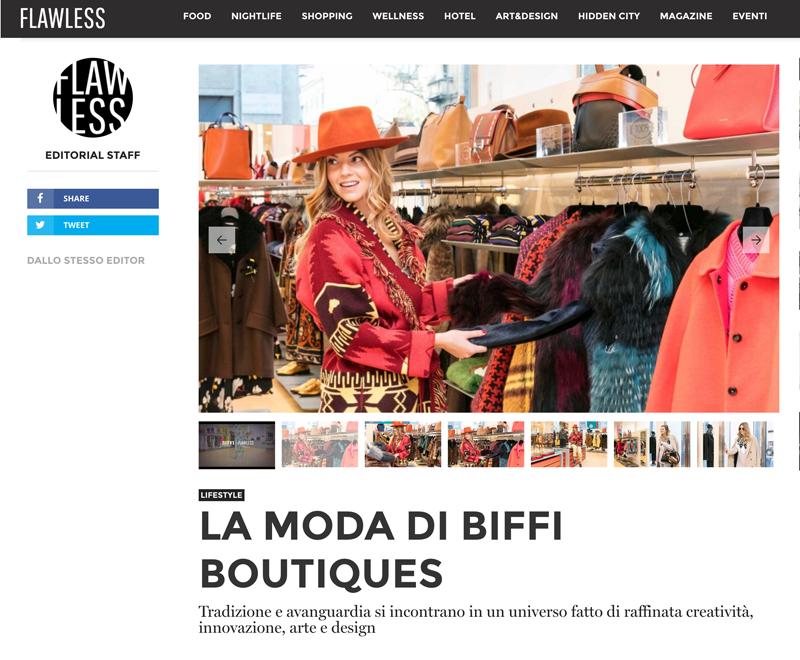Biffi Boutique on FlawlessMilano