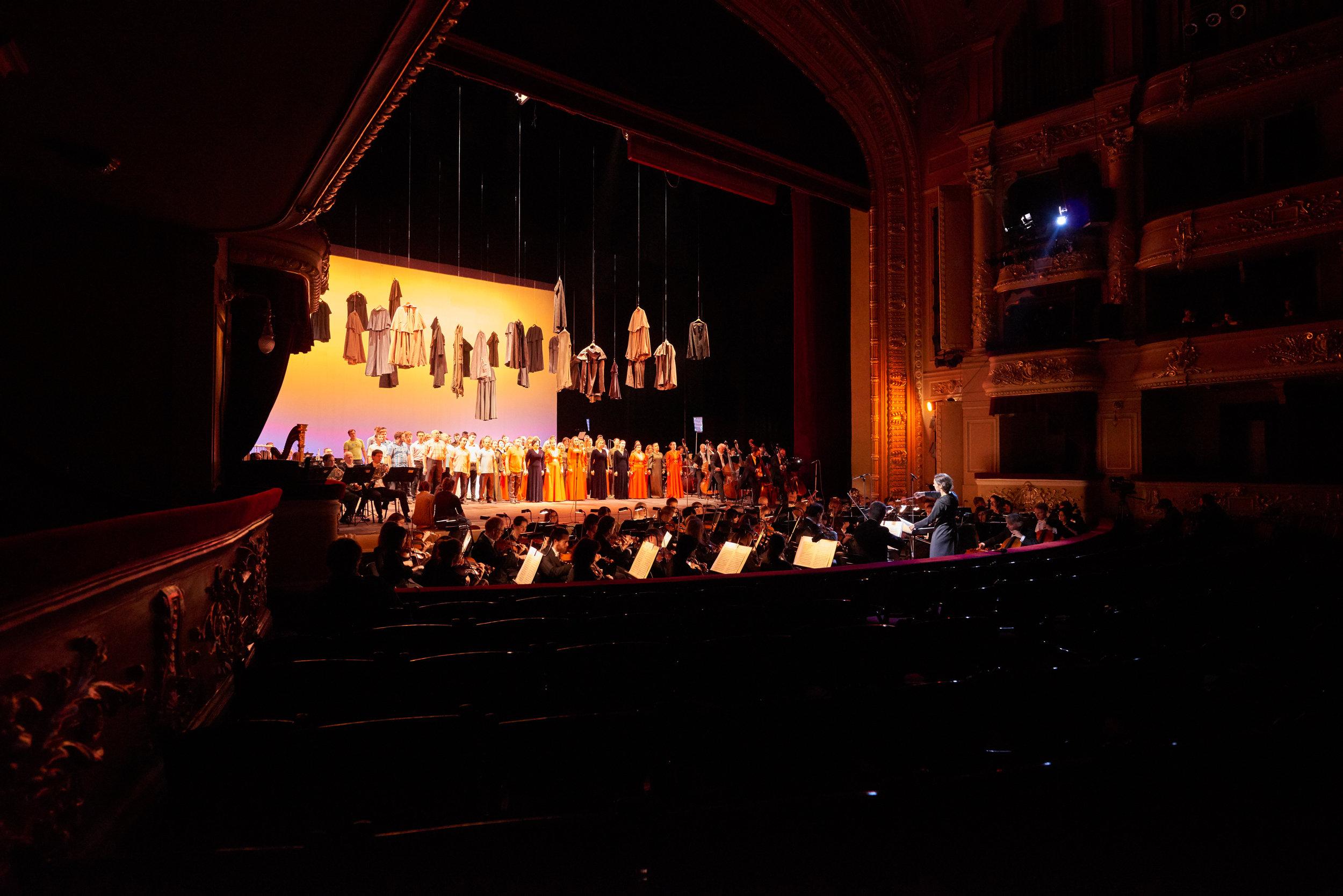 Babyn Yar commemorative concert photo, Andrew Waller