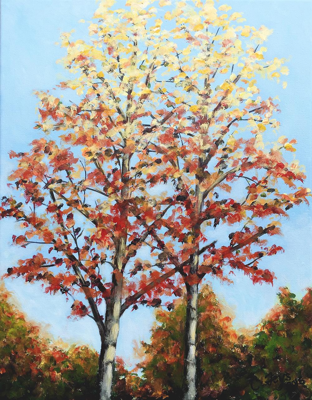 Fall Leaves, 2016