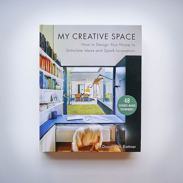 """Guys, we're in a book!! Go grab architect Donald M. Rattner's """"My Creative Space: How to Design Your Home to Stimulate Ideas and Spark Innovation,"""" where he explains how your home can become """"an enormously powerful creative asset."""" We are well complimented by Rattner, who remarks on our office project, """"Hat tip to the designer for adroitly pulling together so many creativity-positive design elements in a single space."""" Check us out on page 255!  #interiordecorating #funhousefurnishings #inabook #njdesign #interiordesign #mycreativespace"""