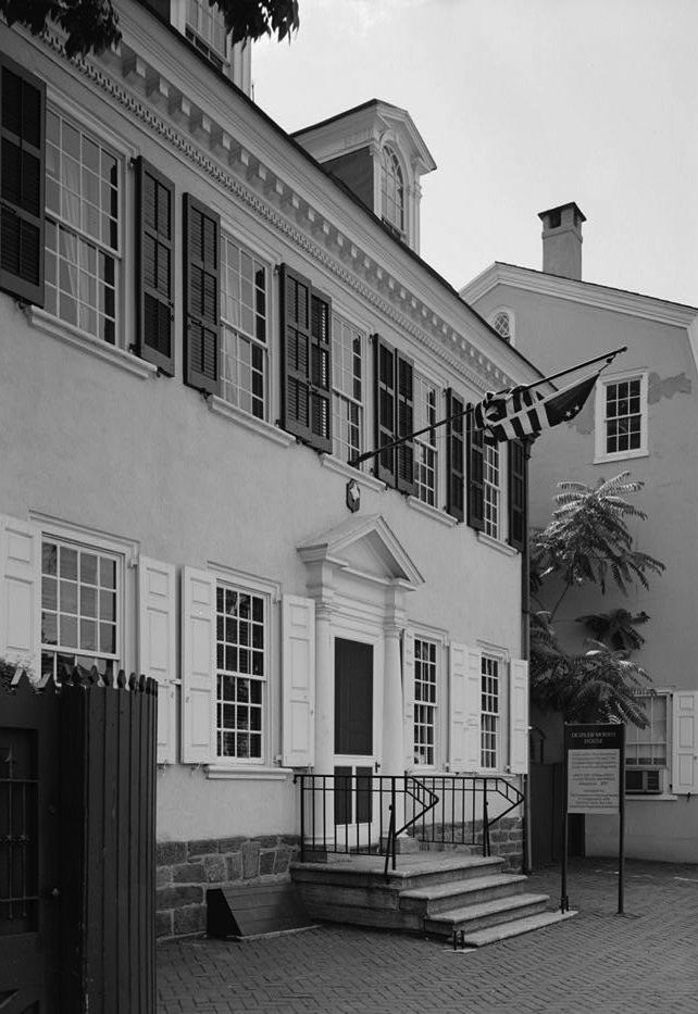 Deshler-Morris House in Germantown, Pennsylvania