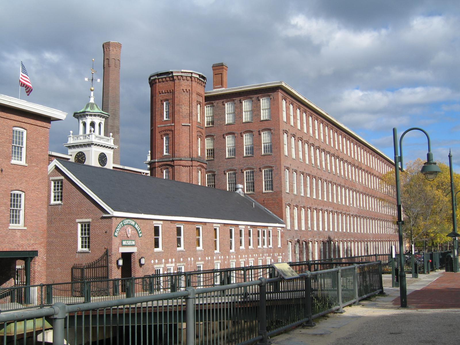 Boott Cotton Mill in Lowell, Massachusetts, 2006