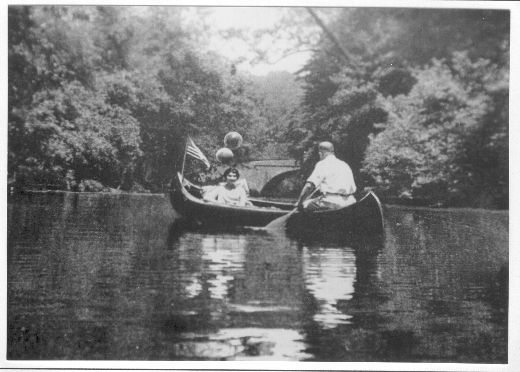 Figure 1. Enjoying the Wissahickon circa 1900 (Francis B. Brandt, The Wissahickon Valley: Within the City of Philadelphia. Philadelphia, Pennsylvania: Corn Exchange National Bank, 1927)