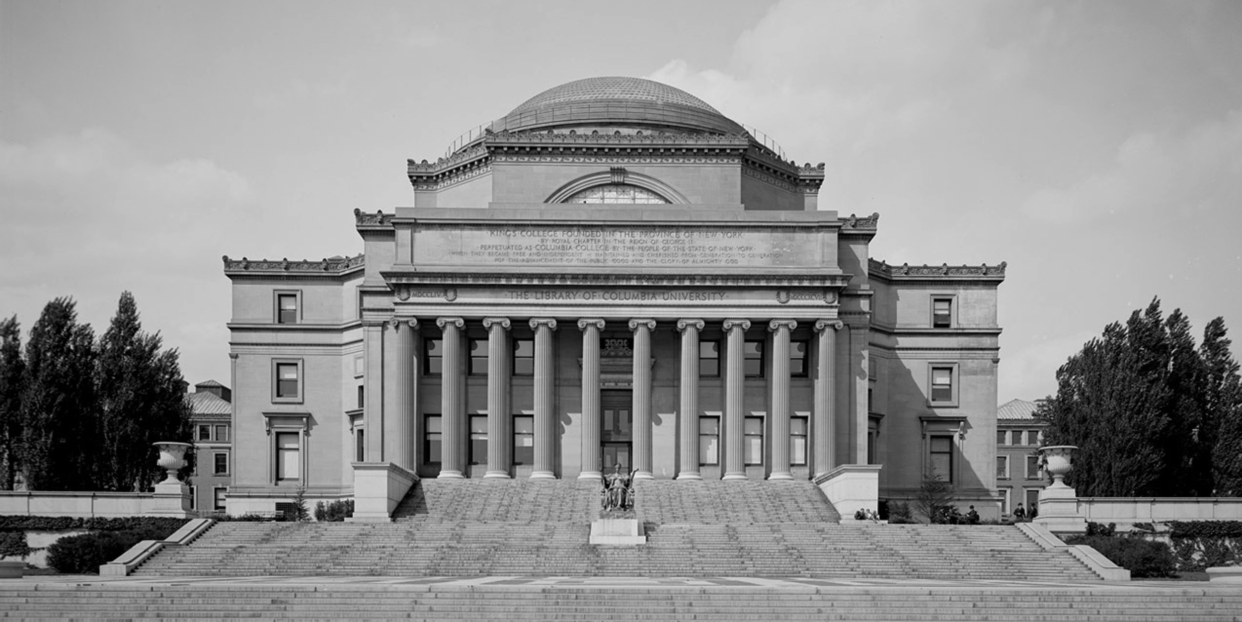 Low Library, Columbia University