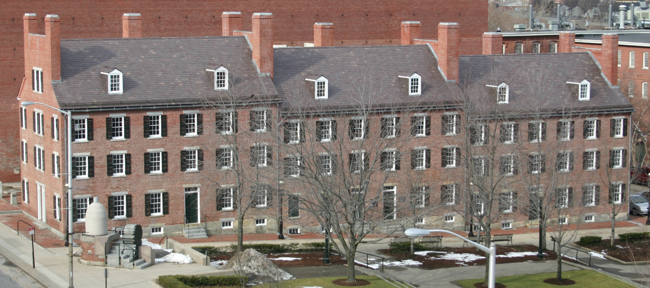 Boott Cotton Mills' Boarding House, Lowell, Massachusetts