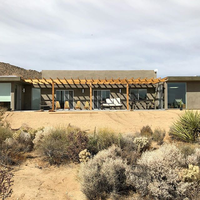 Just finished this large addition and remodel in #joshuatreehighlands . . . . . #architecture #architecturelovers #homedesign #homedecor #design #modernarchitecture #luxury #luxurylife #luxuryhomes #california #californiadreaming #style #residentialarchitecture #palmsprings #palmspringslife #desertliving #desert #desertmodernism #mcm #midcenturymodern #midcenturymodernhouse #modern #renovation #architecturaldesign #interiordesign #duanesmith #hmh @milgardwindowsdoors
