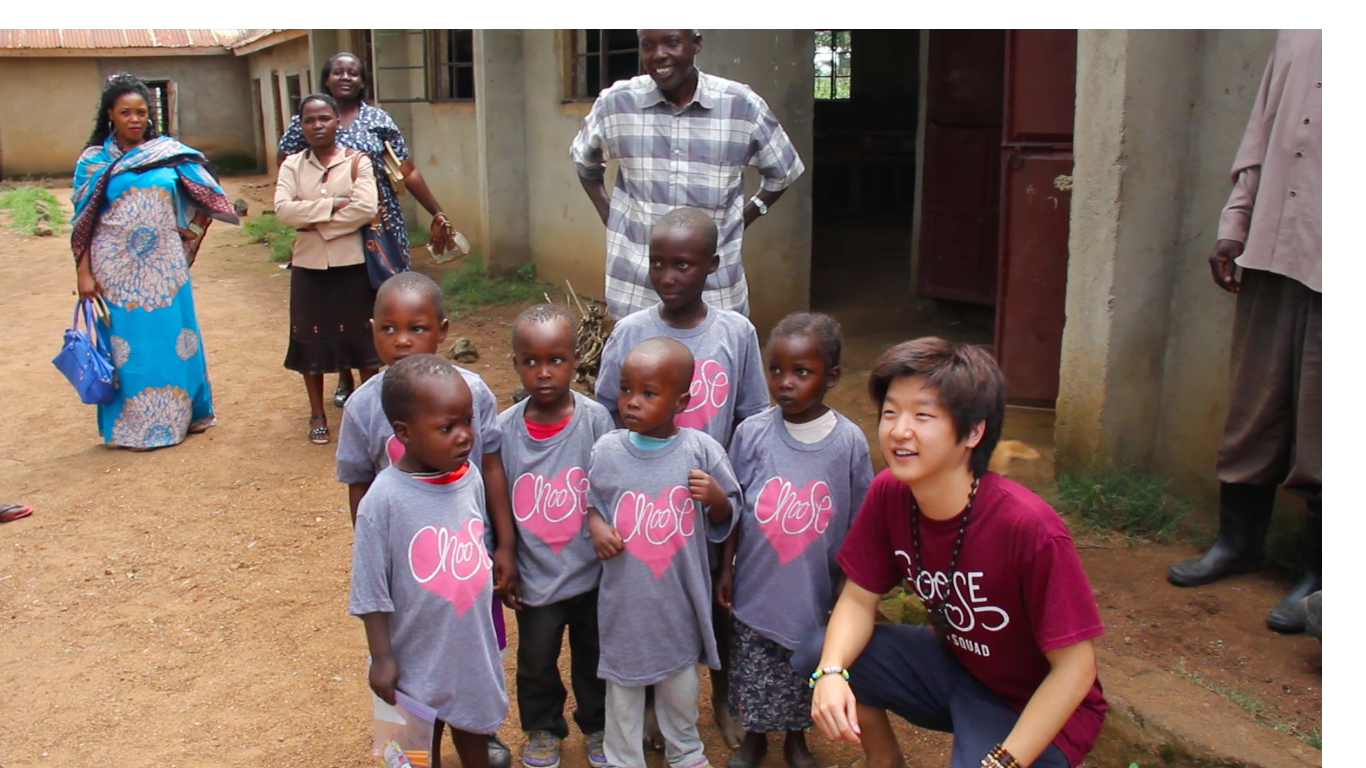 Our friend Tyler sharing Love in Tanzania!