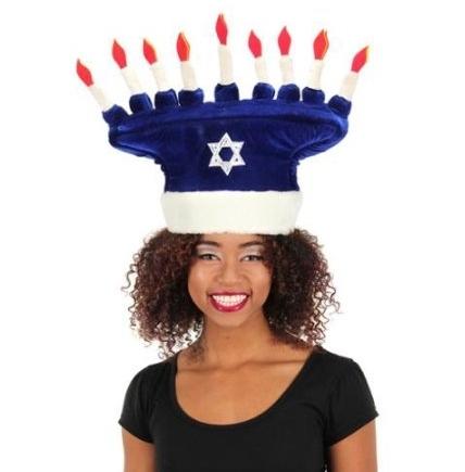 Elope Menorah Hat
