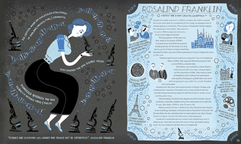 Reprinted with permission from Women in Science Copyright © 2016 by Rachel Ignotofsky. Published by Ten Speed Press, an imprint of  Penguin Random House LLC.