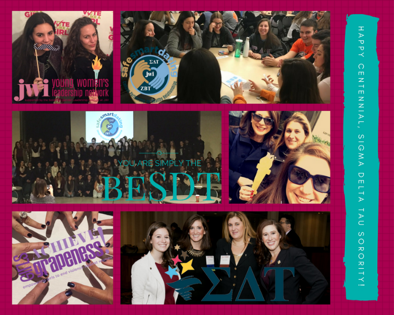 SDT engages young women and sorority alumni in a variety of JWI projects and initiatives.
