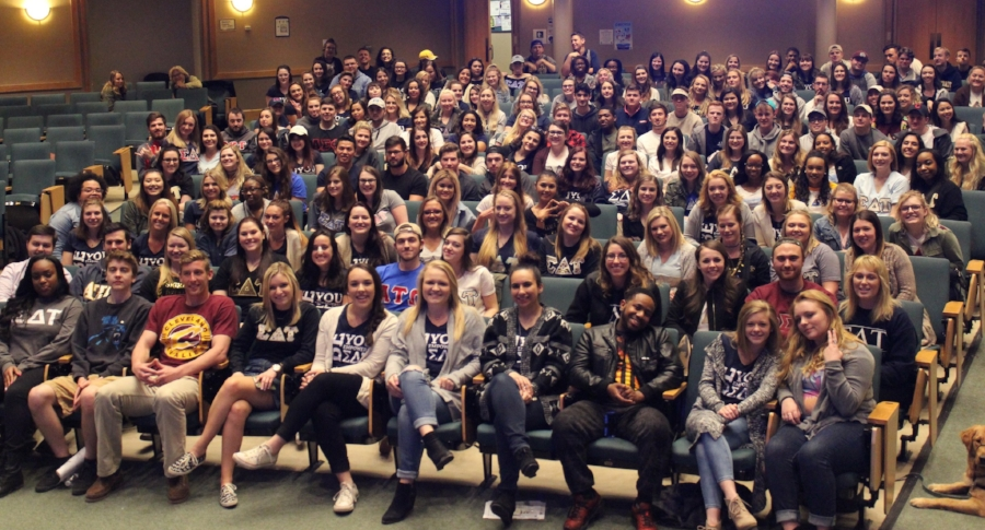 Students at Kent State University participate in one of JWI's SafeSmartDating workshops