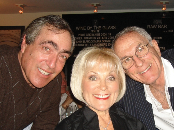 Joanie with her brothers, Alan (left) and Philip (right)
