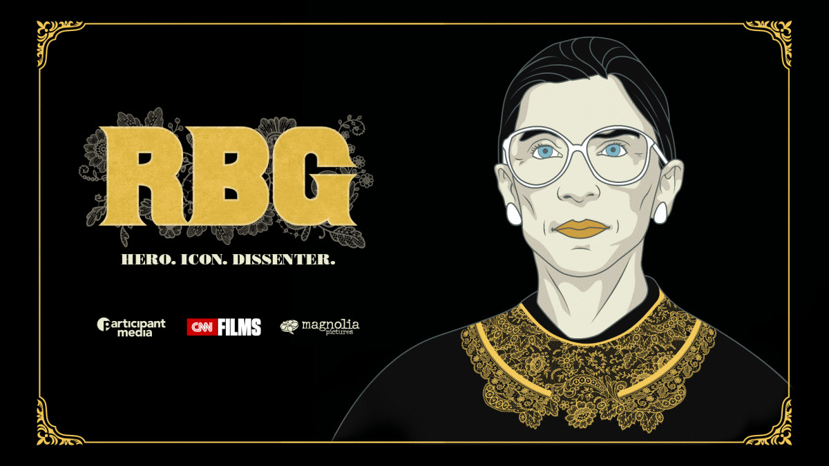 A scene from  RBG , a Magnolia Pictures release. Photo courtesy of Magnolia Pictures/CNN Films.