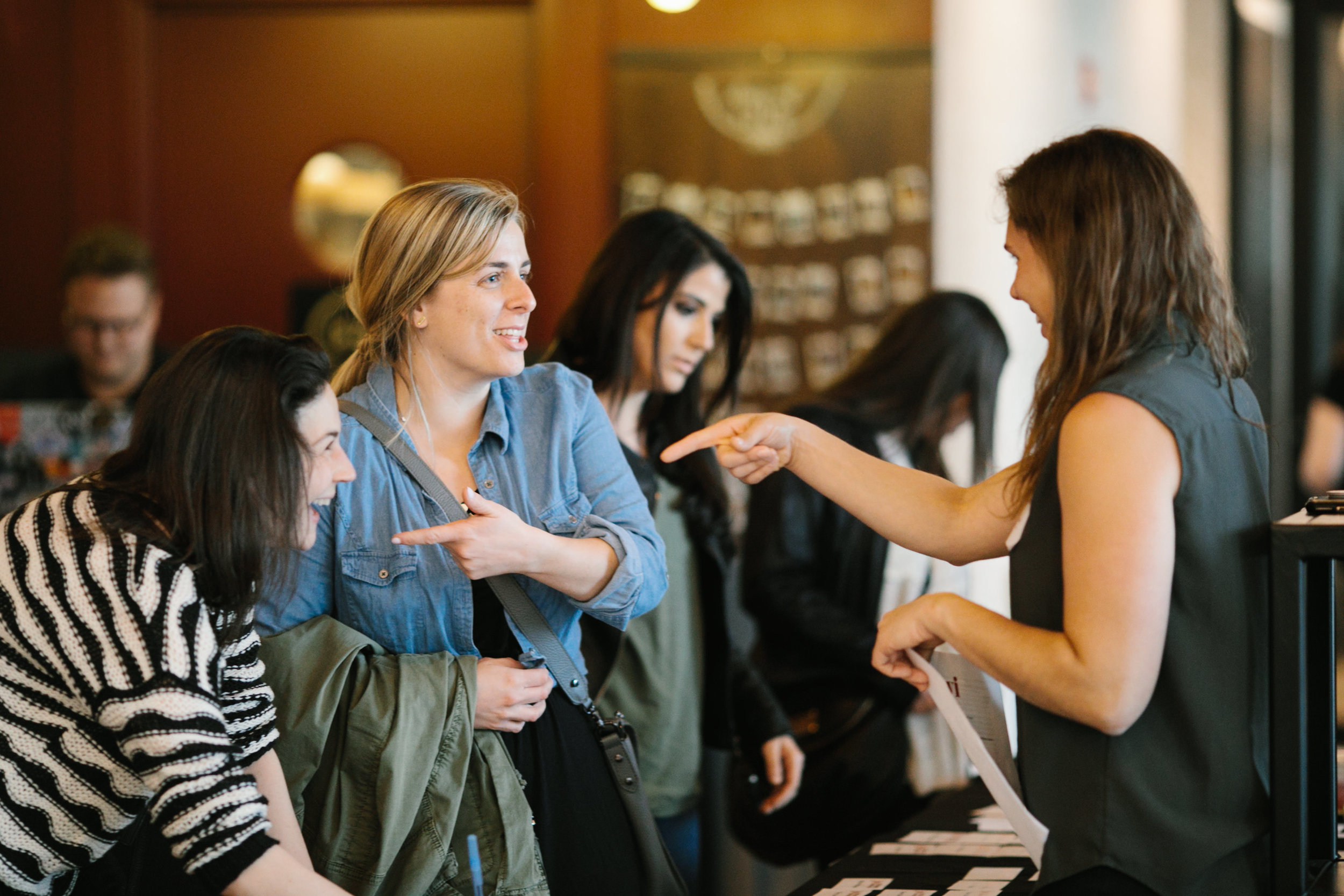 JWI's Young Women's Leadership Network connects young women across the country with incredible speakers, networking opportunities, and advocacy issues.  Learn more.