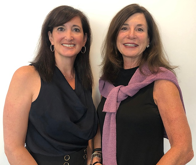 left: Incoming CEO Meredith Jacobs; right: Lori Weinstein, to become CEO Emerita in 2020.