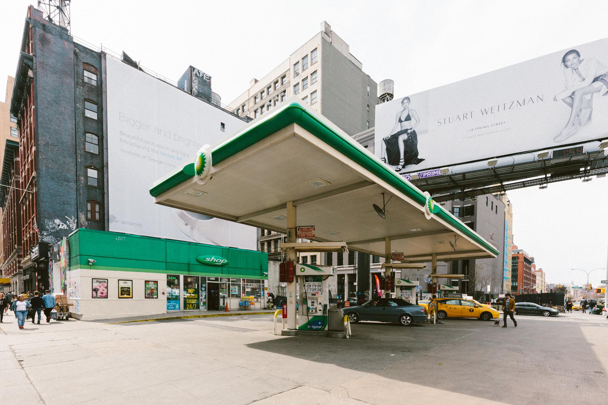 The SoHo BP gas station has closed — Doobybrain com