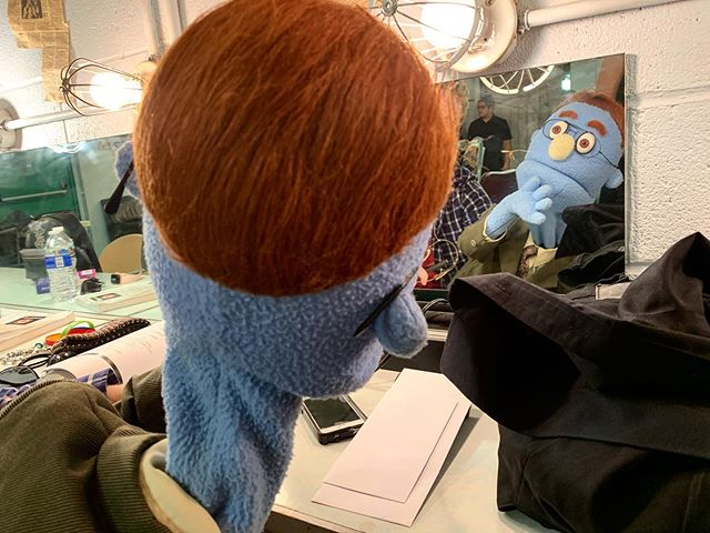 🔸AVENUE Q OPENS TONIGHT🔸 . Rod likes to take some time to self-reflect before a show to really get into the zone. Are props set? Costumes ready? Will he have time to read a bit of his favorite book during Intermission? Find out if he ever does get to read 7/26-8/11! Purchase tickets for AVENUE Q at www.paplayhouse.org or by calling 610.865.6665 . . . #AvenueQ #PAPlayhouse #PennsylvaniaPlayhouse #TechWeek #TechWeekEssentials #actor #actorlife #Rod #LiveTheatre #LehighValley #LehighValleyStage