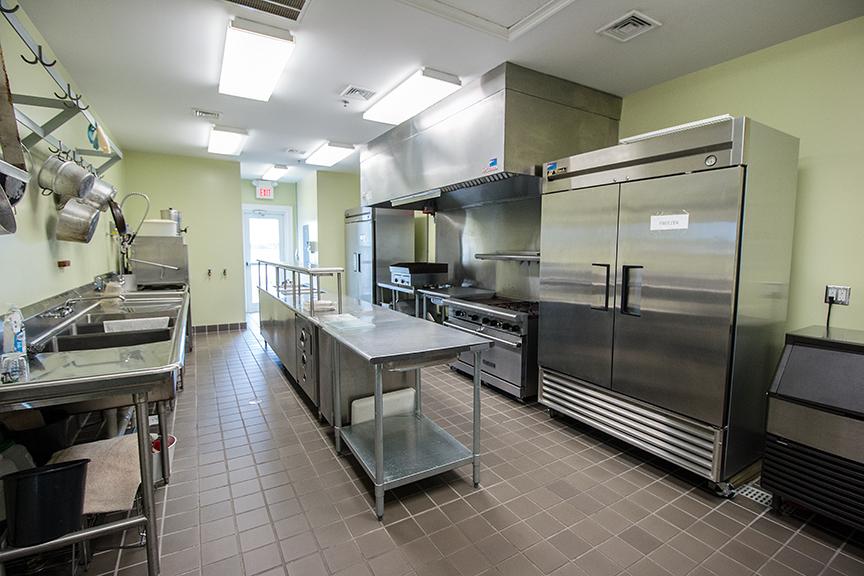 Banquet Room Kitchen (second floor)