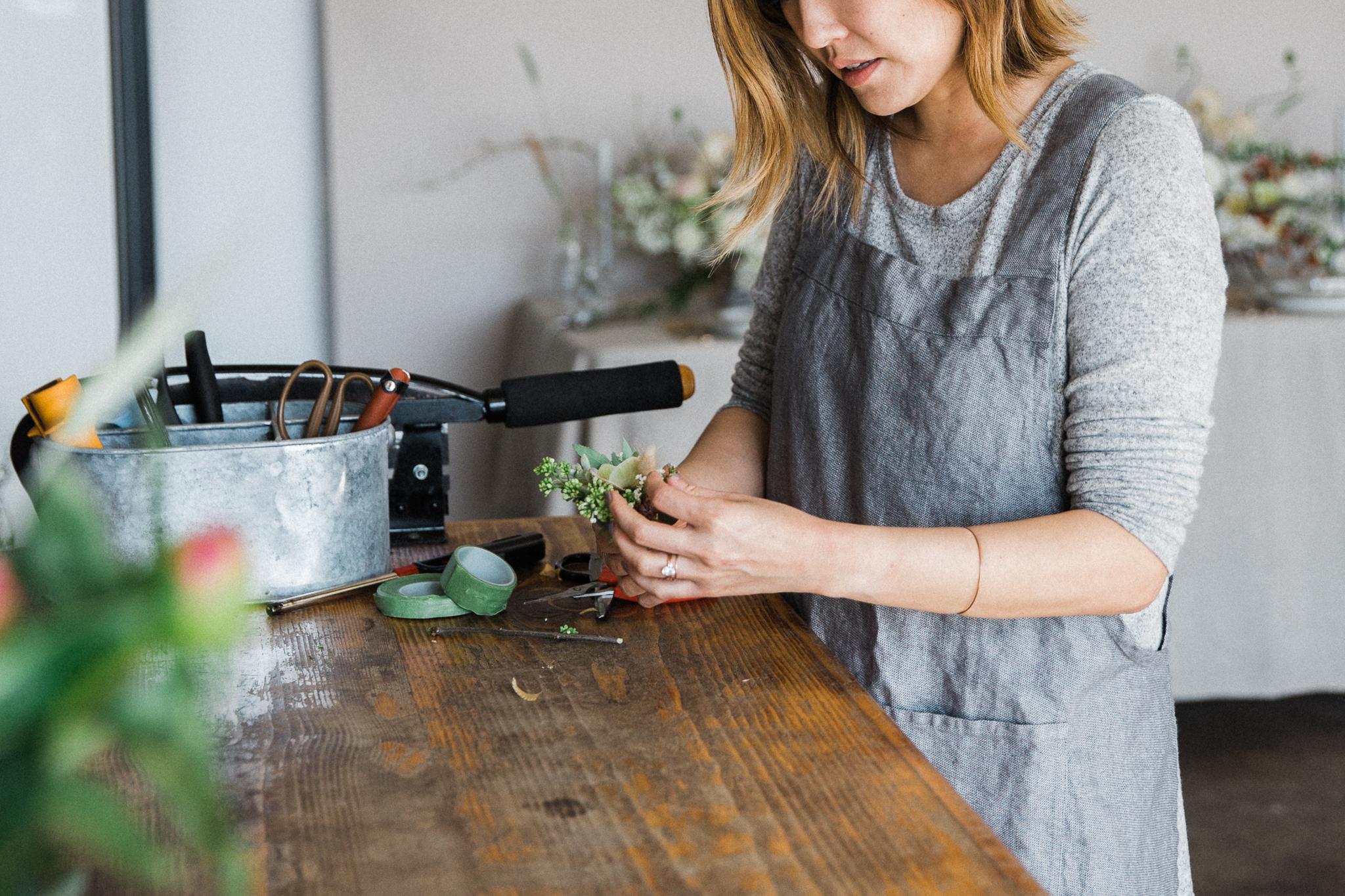 Foral Designer Milieu Florals Orange County Portrait Photographer