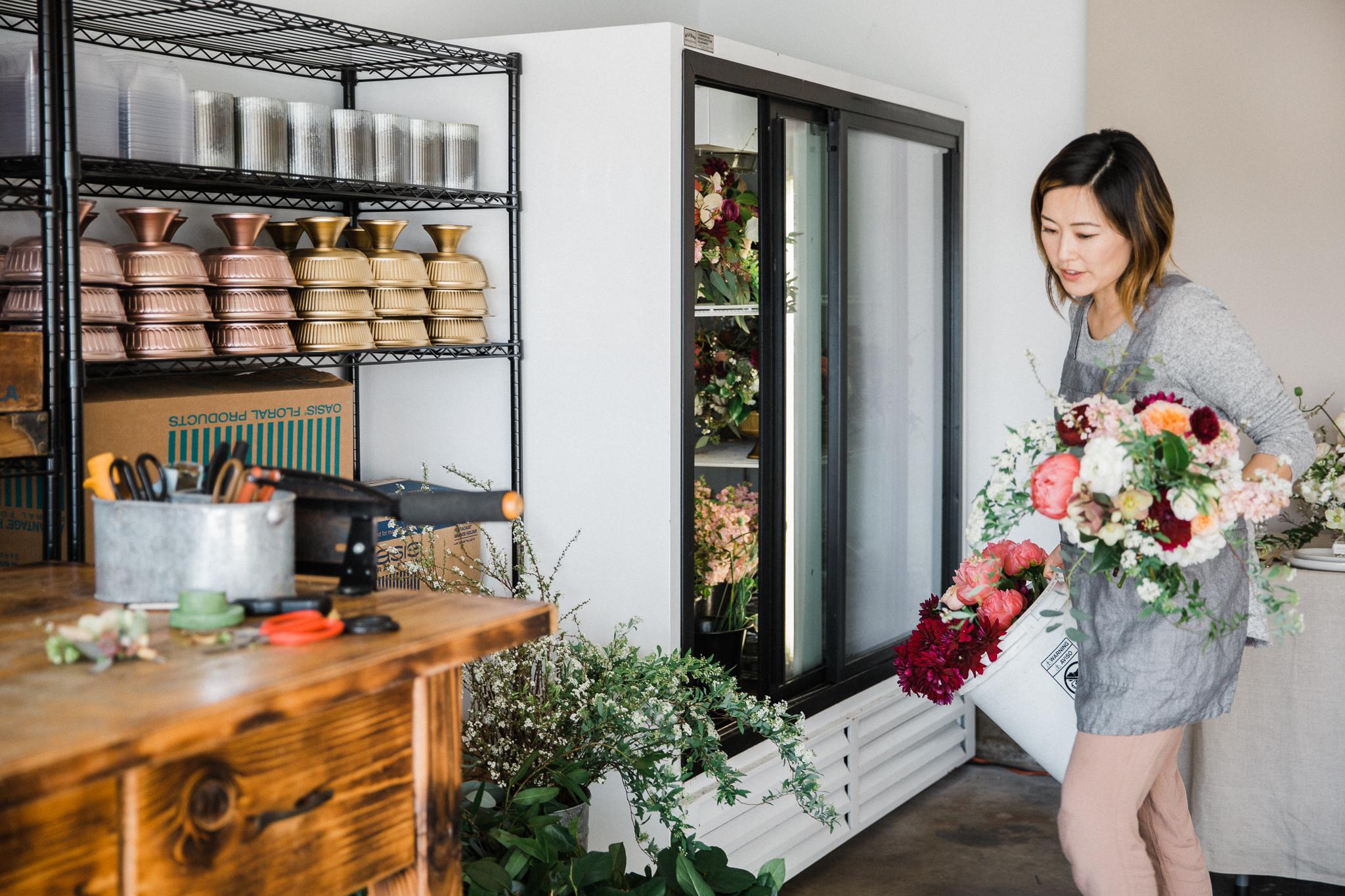Milieu Florals Flower Designer OC Portrait Photographer Creatives