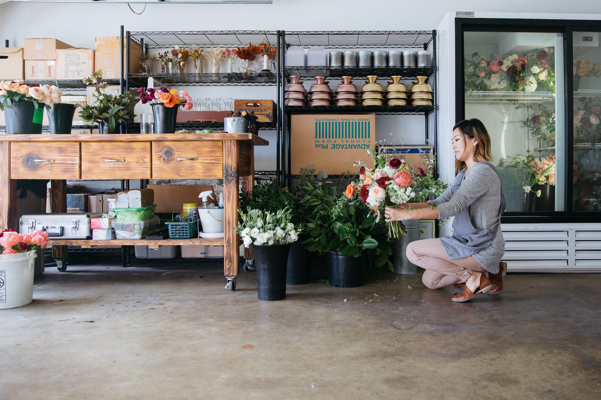 Florist Working - Personal Brand Portrait Photographer