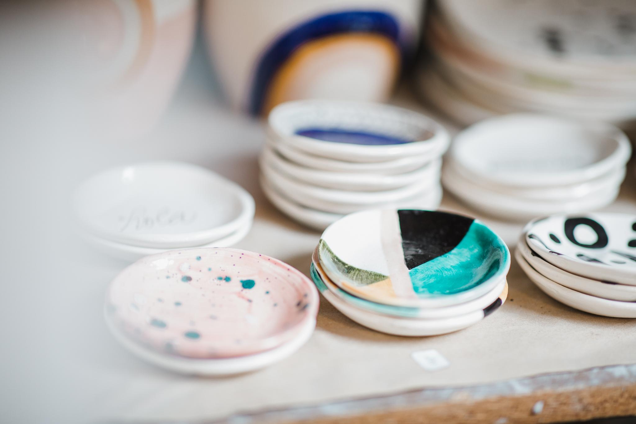 ring dish pottery design luna reece ceramics