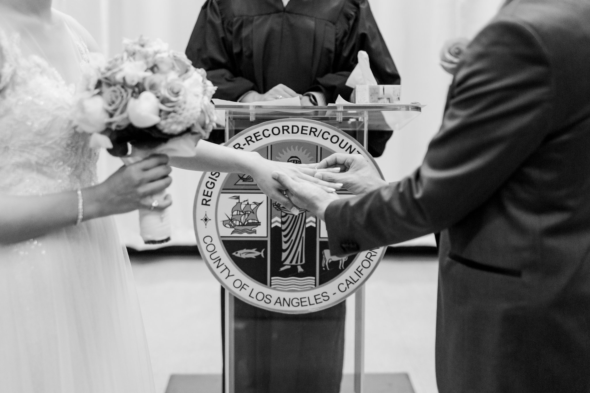 Beverly Hills Courthouse Elopement Joy Theory Co Photography Los Angeles LA Wedding Photographer