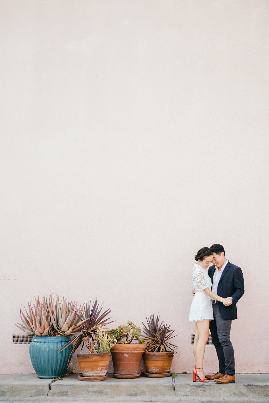 Venice Canals plants Engagement Photography 11 Los Angeles Orange County Wedding Photographer Joy Theory Co