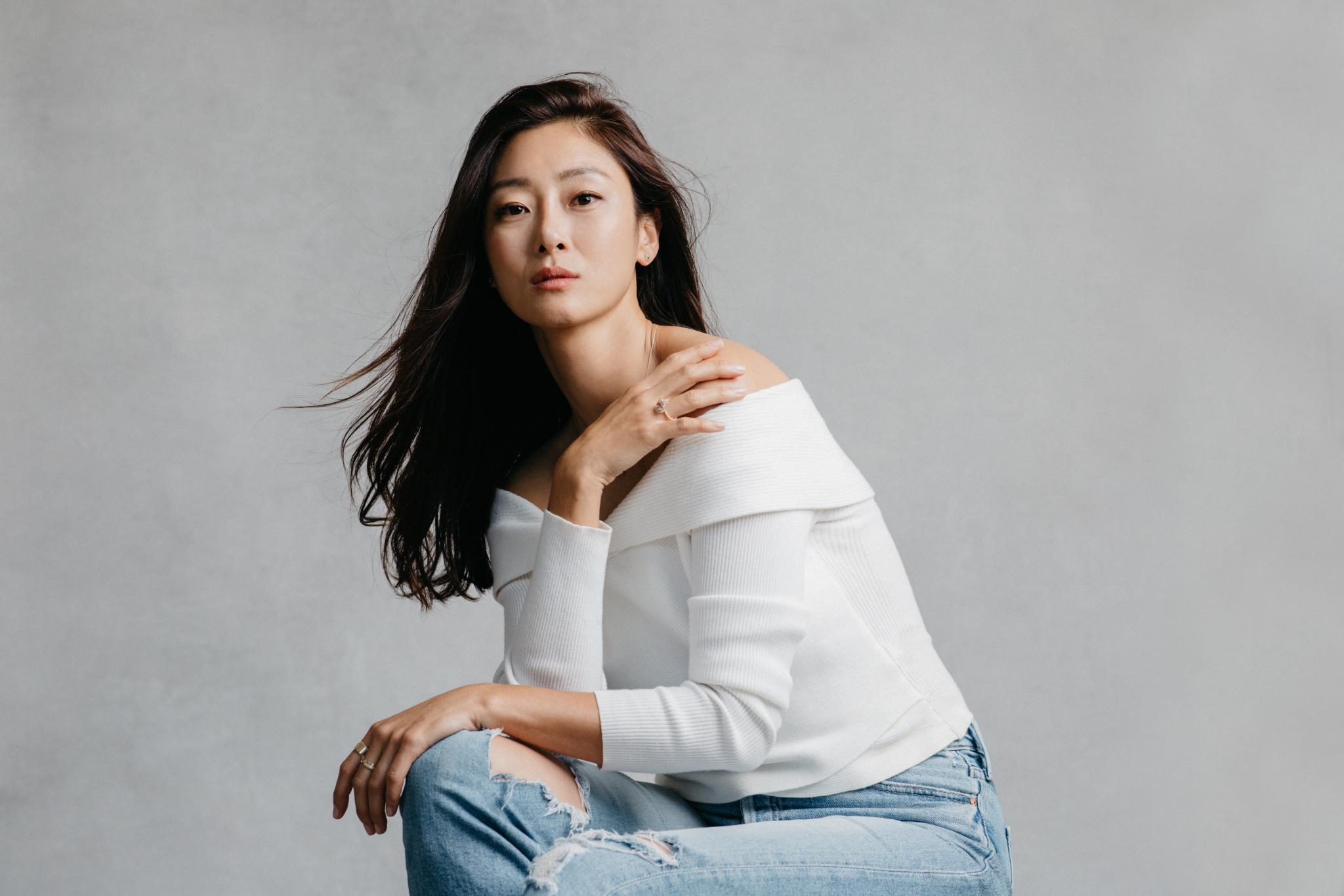 Studio Fashion Brand Photographer Joy Theory Co for Easter Ahn Model Sara Sohn