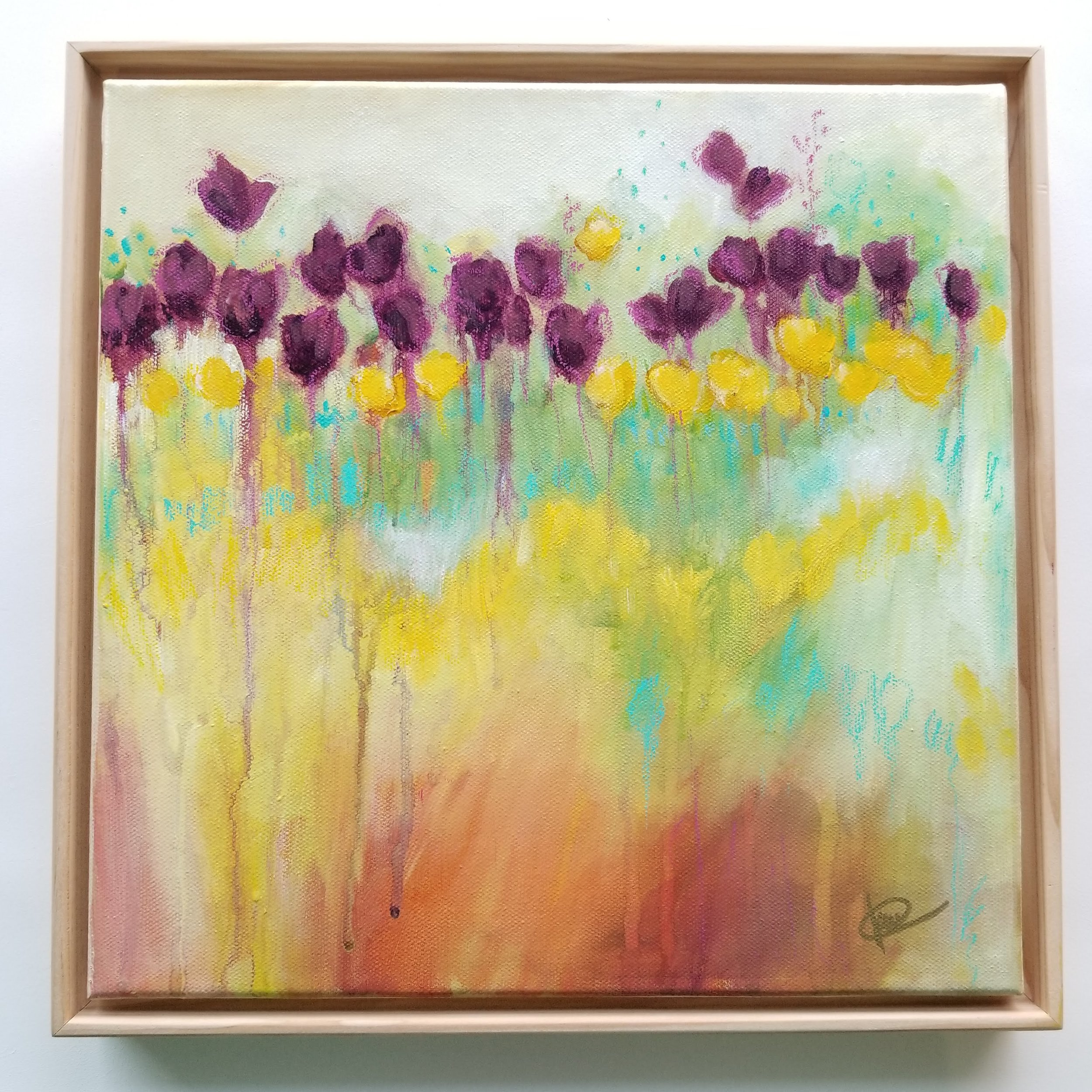 Kellee Wynne Conrad original acrylic painting abstract floral Color Crush.jpg