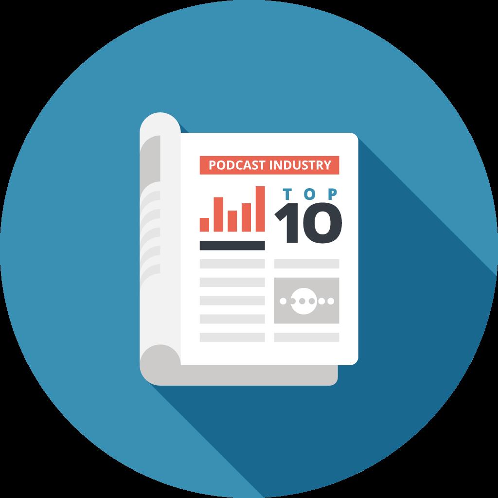 Industry Rankings - Podtrac