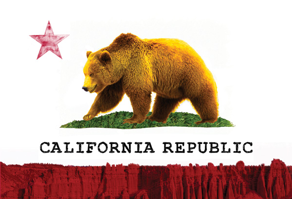 The Bear Flag (California State Flag)