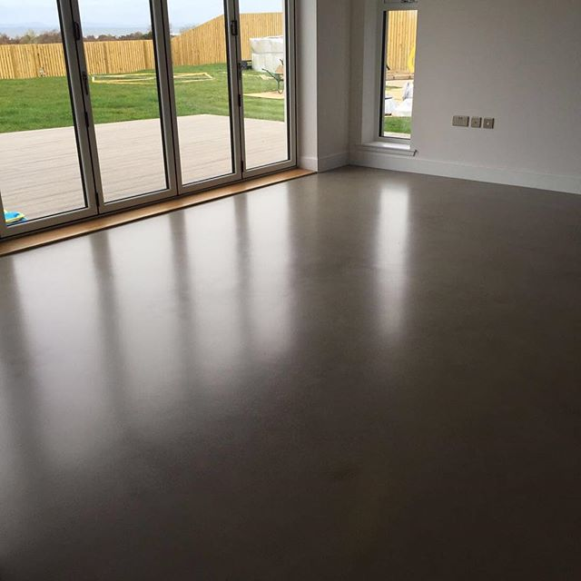 Newly finished polished concrete floor in Inverness looking good 🌑#polishedconcrete #flooring #polishedconcretefloor #polishedconcretewallpanels #polishedconcretewalls #lpolishedconcreteflooring #concretelife #concretedesign #concreteart #thisisscotland #scotland #hardwearing #highperformance #costeffective #highstrength #innovate #concretedesign #concreting #modernhome