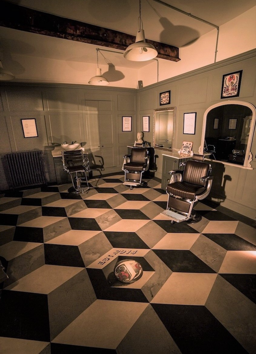 Artstone barber shop