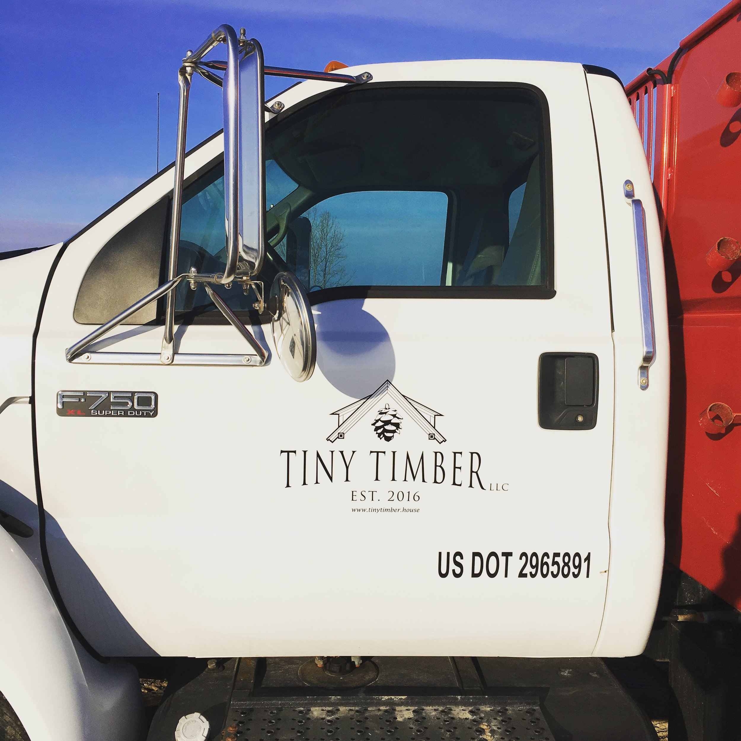 Tiny Timber Truck Logo