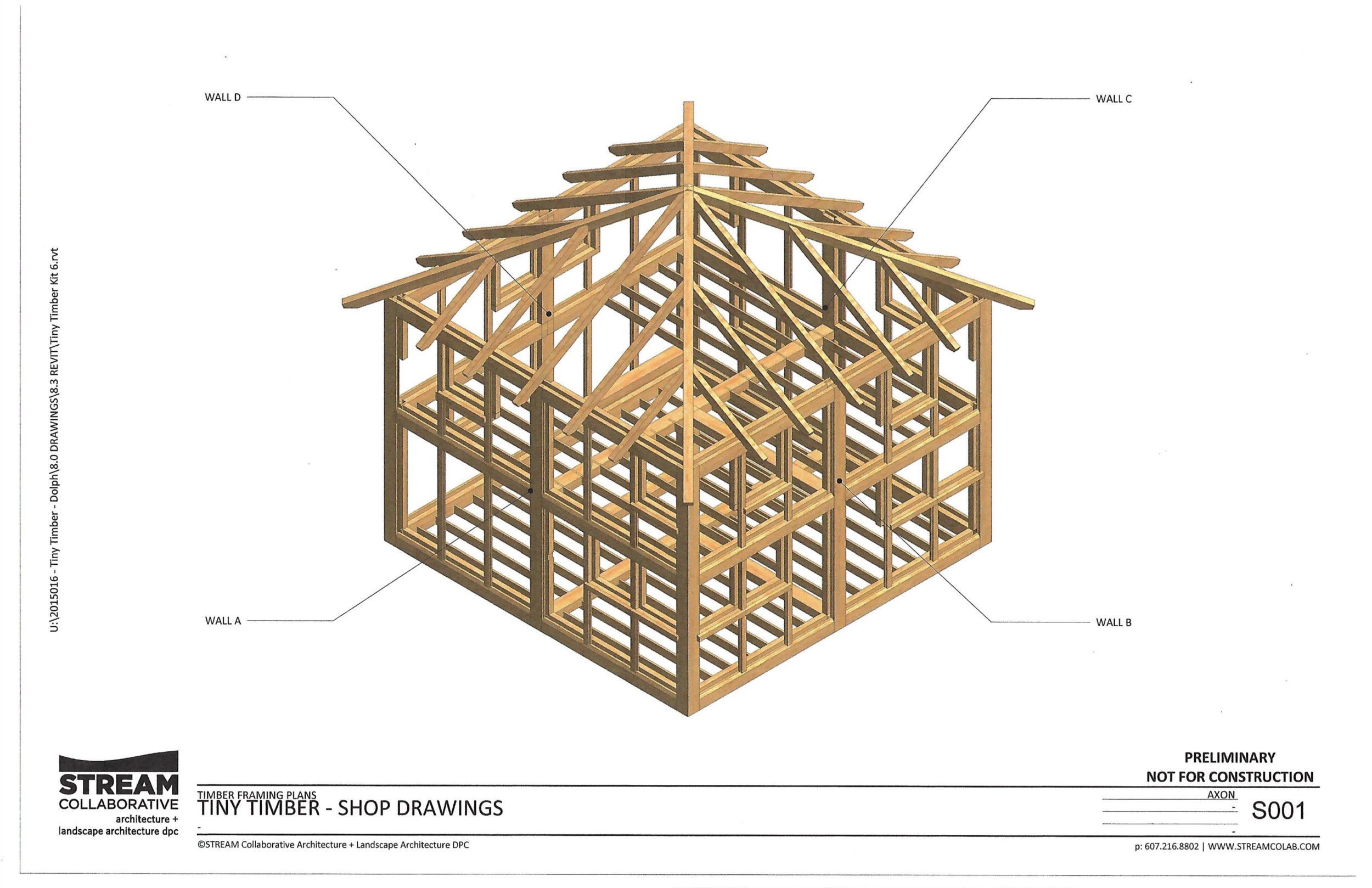 Tiny Timber skeleton rendering