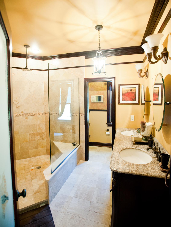 wide image of a bathroom