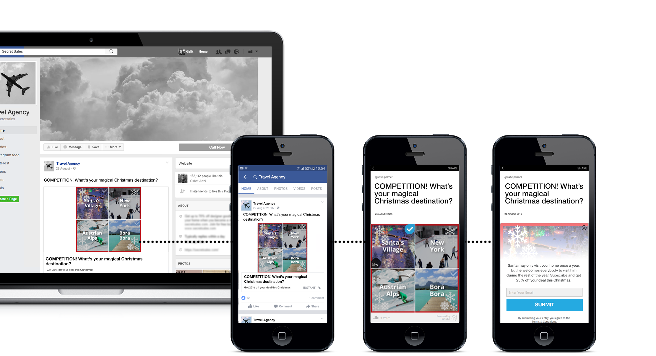 Facebook Advertising Campaign Christmas
