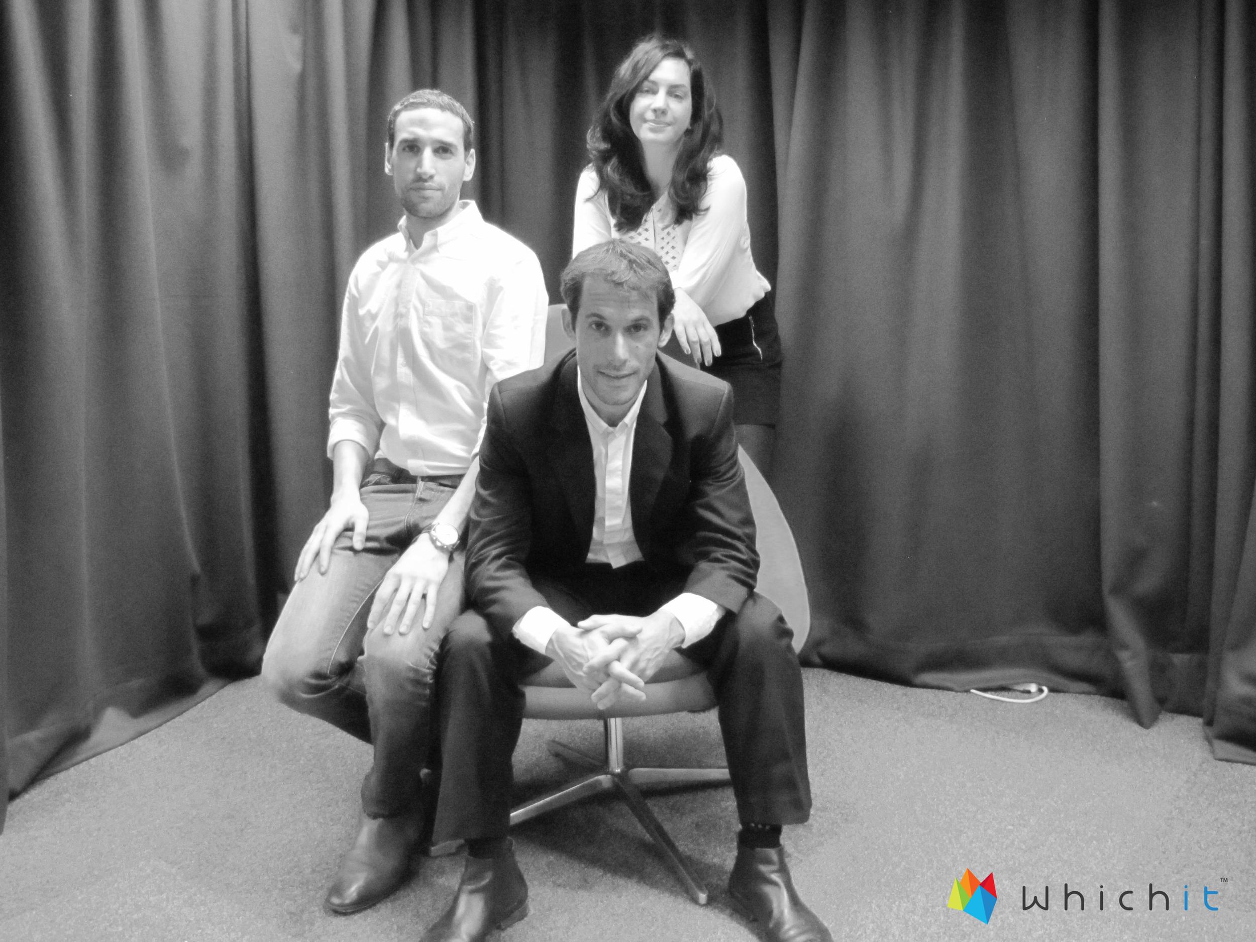 Galit (Creative Director); Yarden (CTO); Jonathan (CEO)