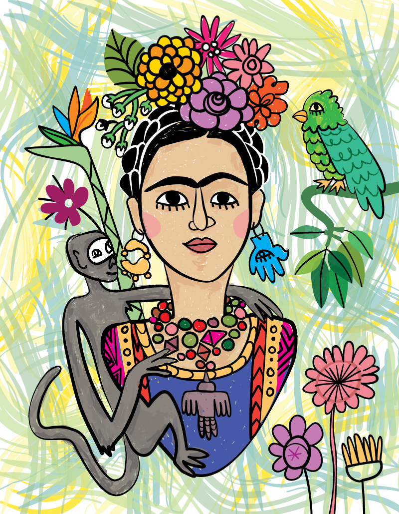 Frida Kahlo Illustration for Perpetual You