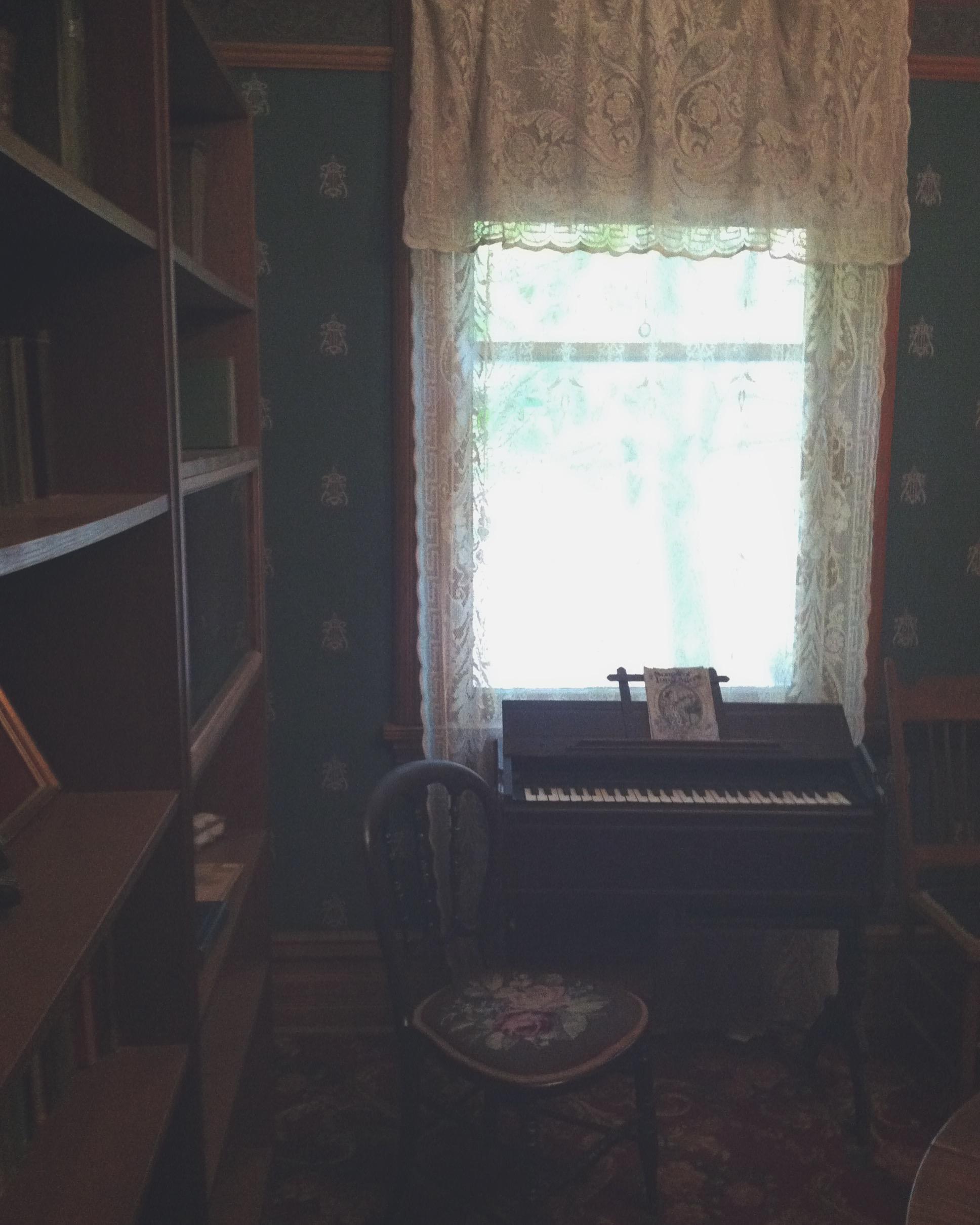 Hemingway's study.