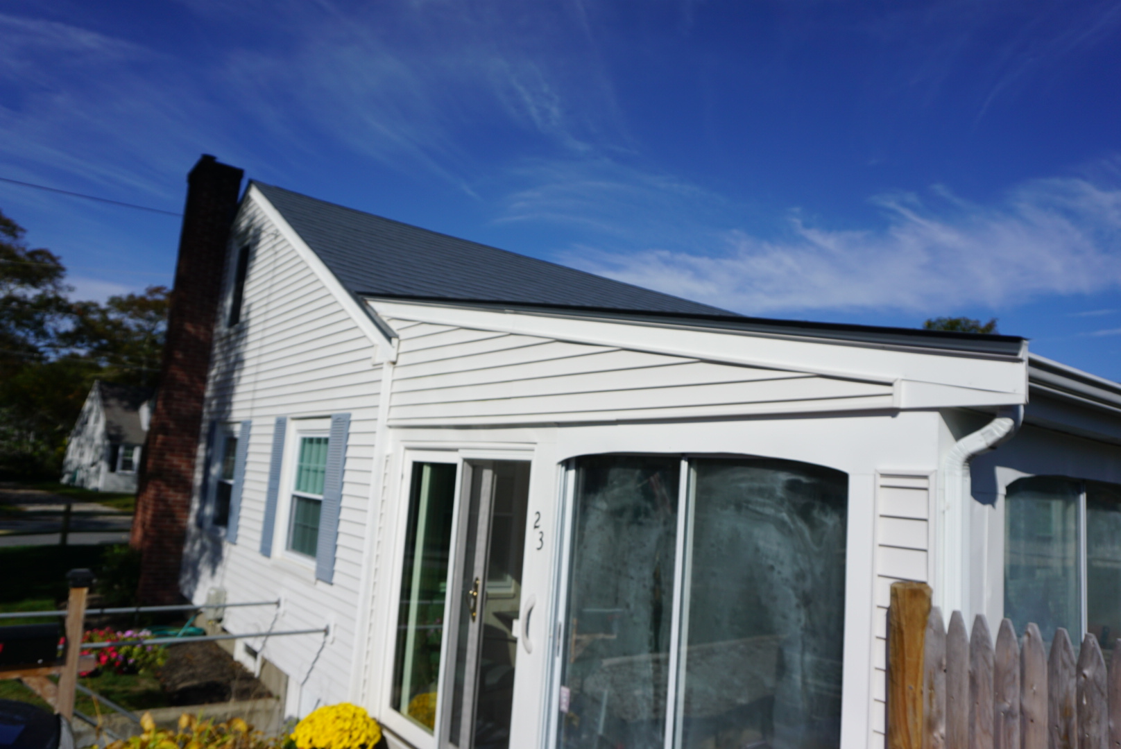 Buzzards Bay Metal Roof After
