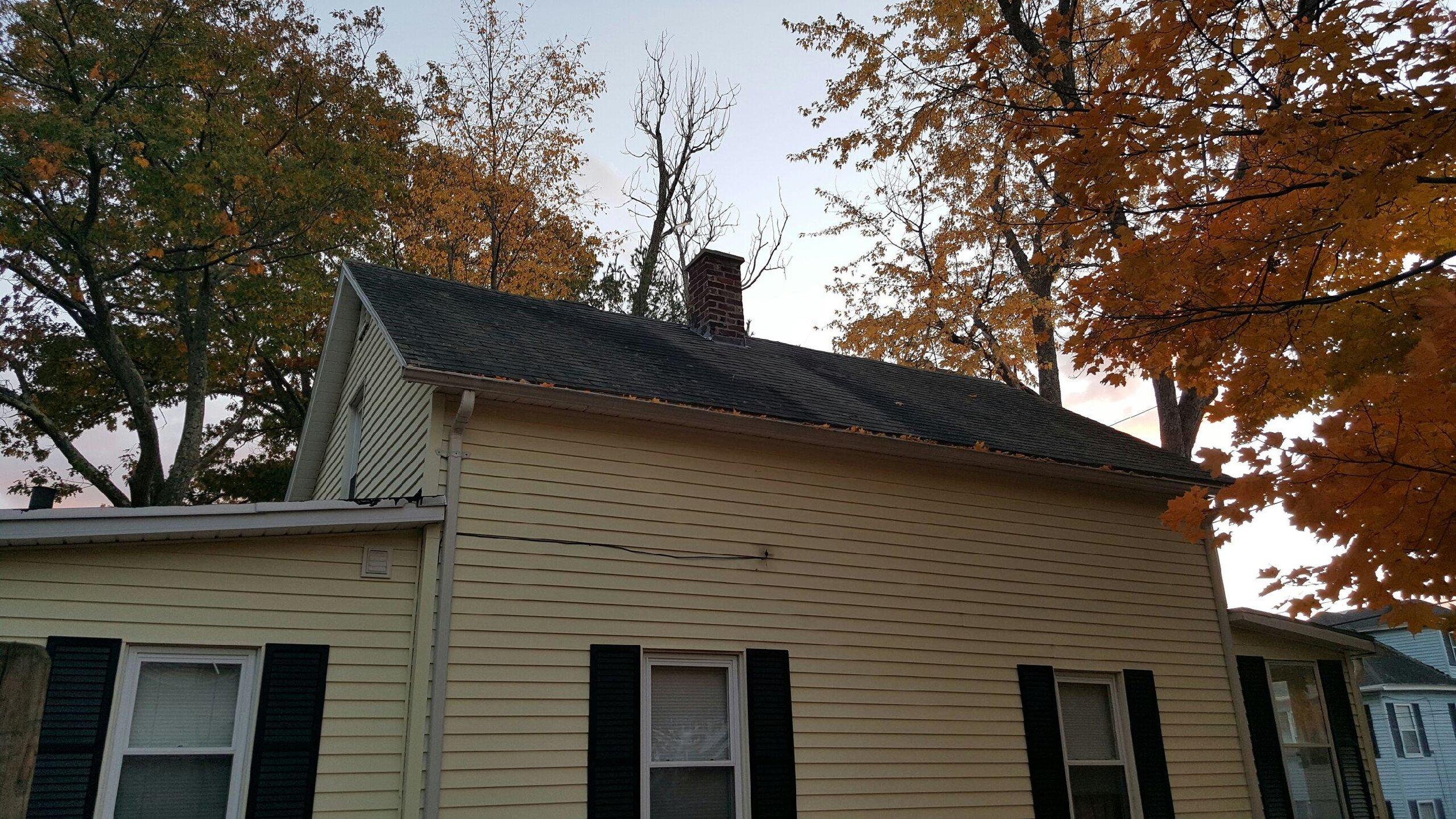 Gardner Metal Roof Before