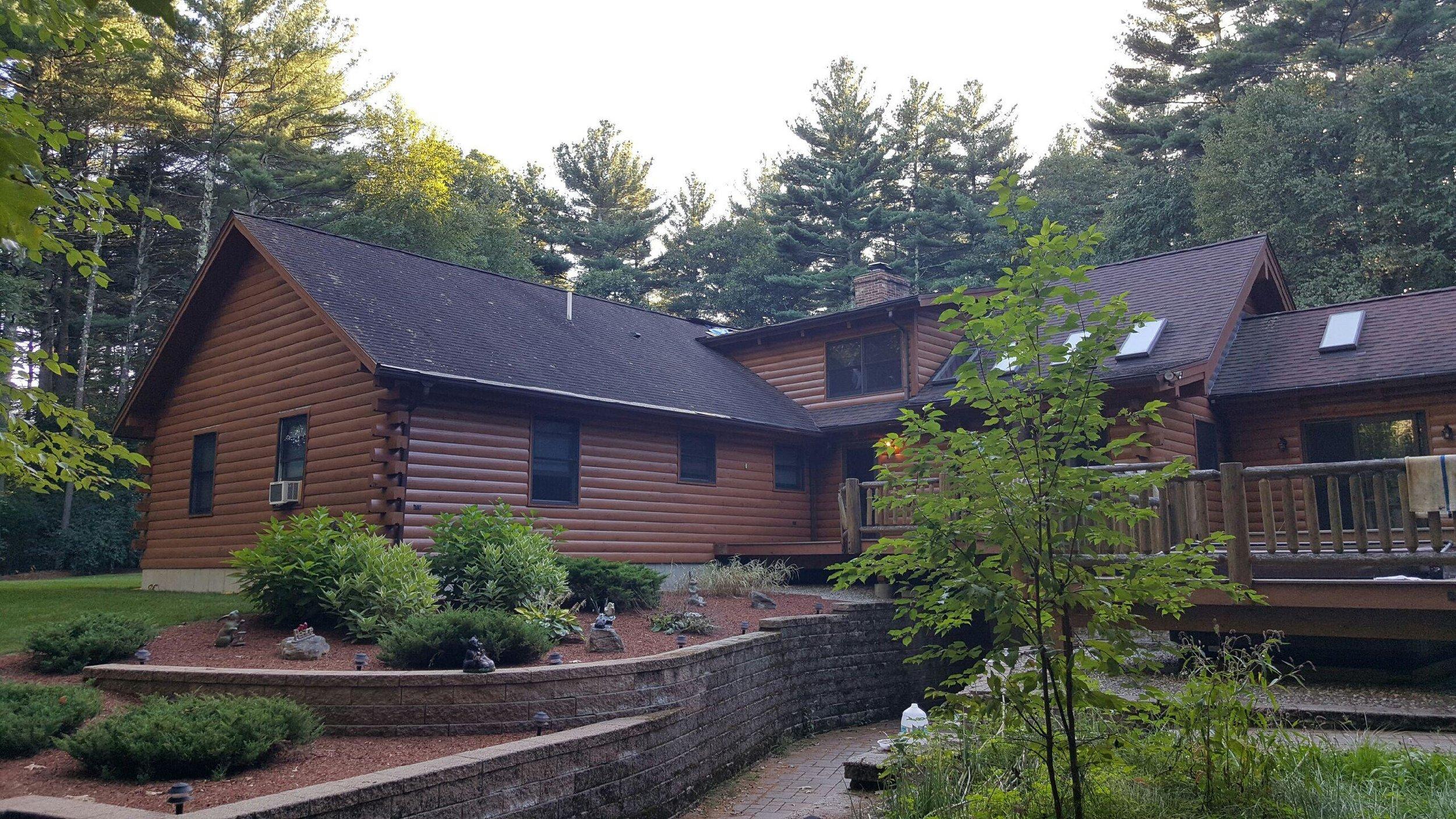 Douglas Metal Roof Before