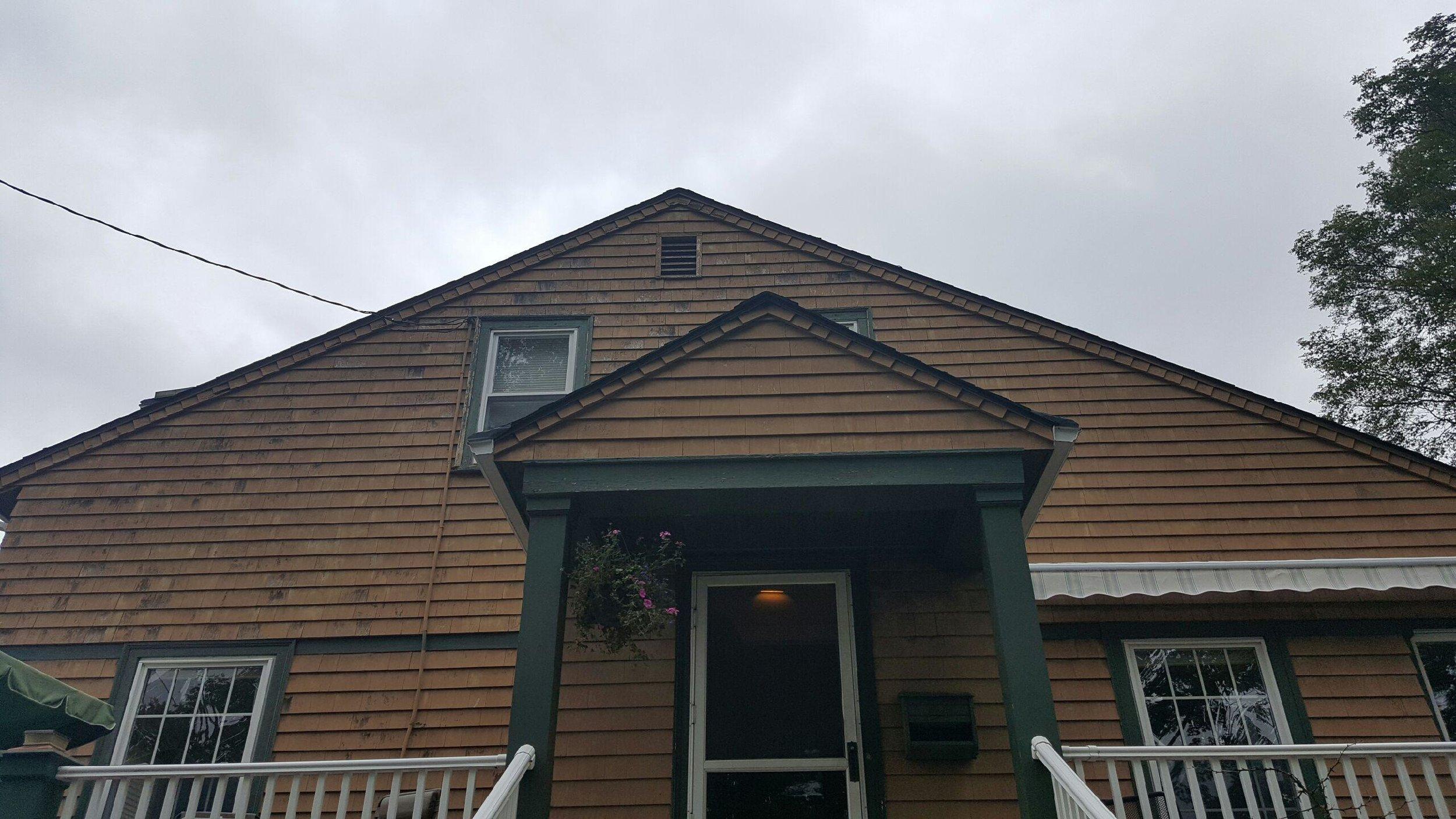Black Metal Roof in Beverly - Before