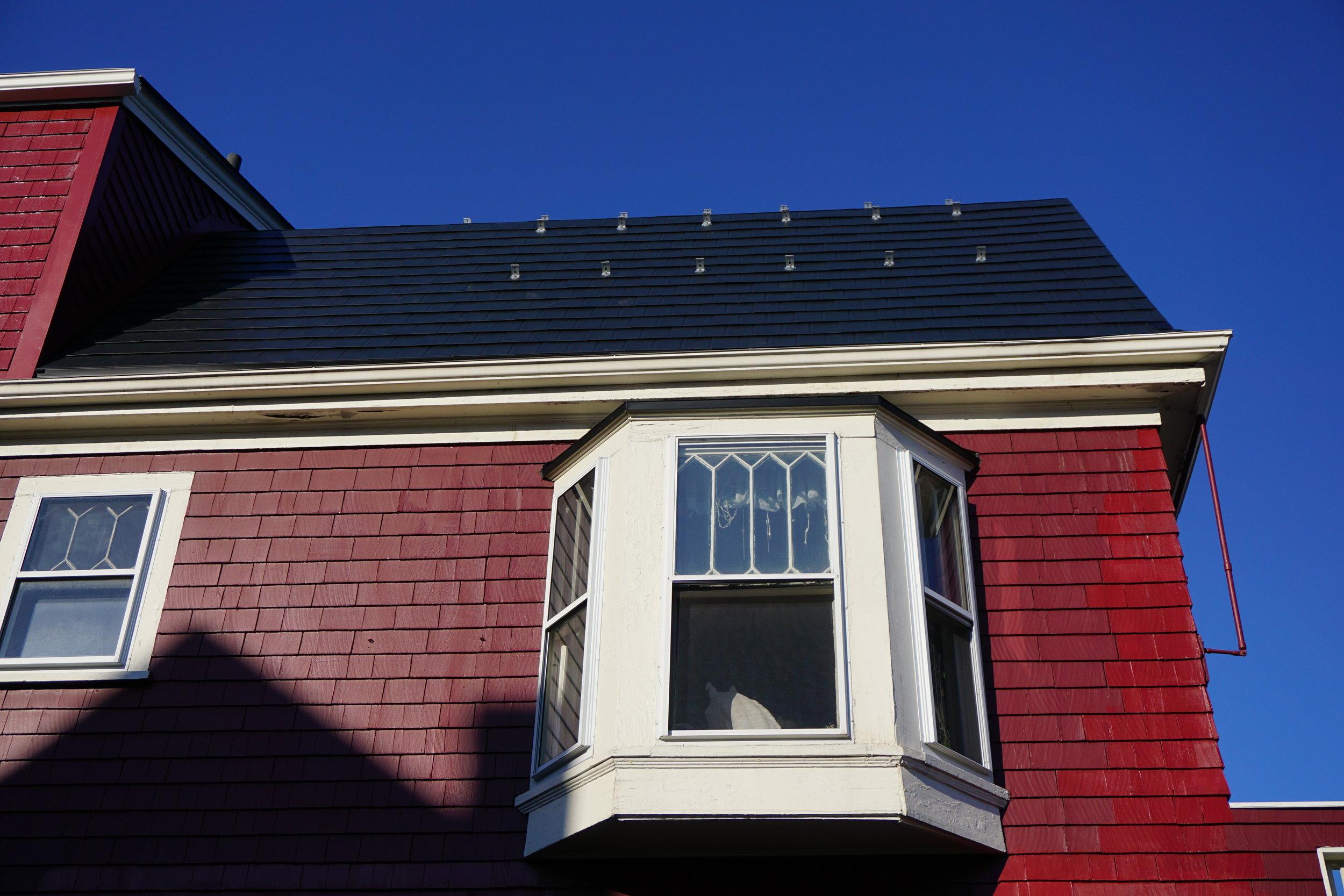 Black Metal Roof in Somerville - After
