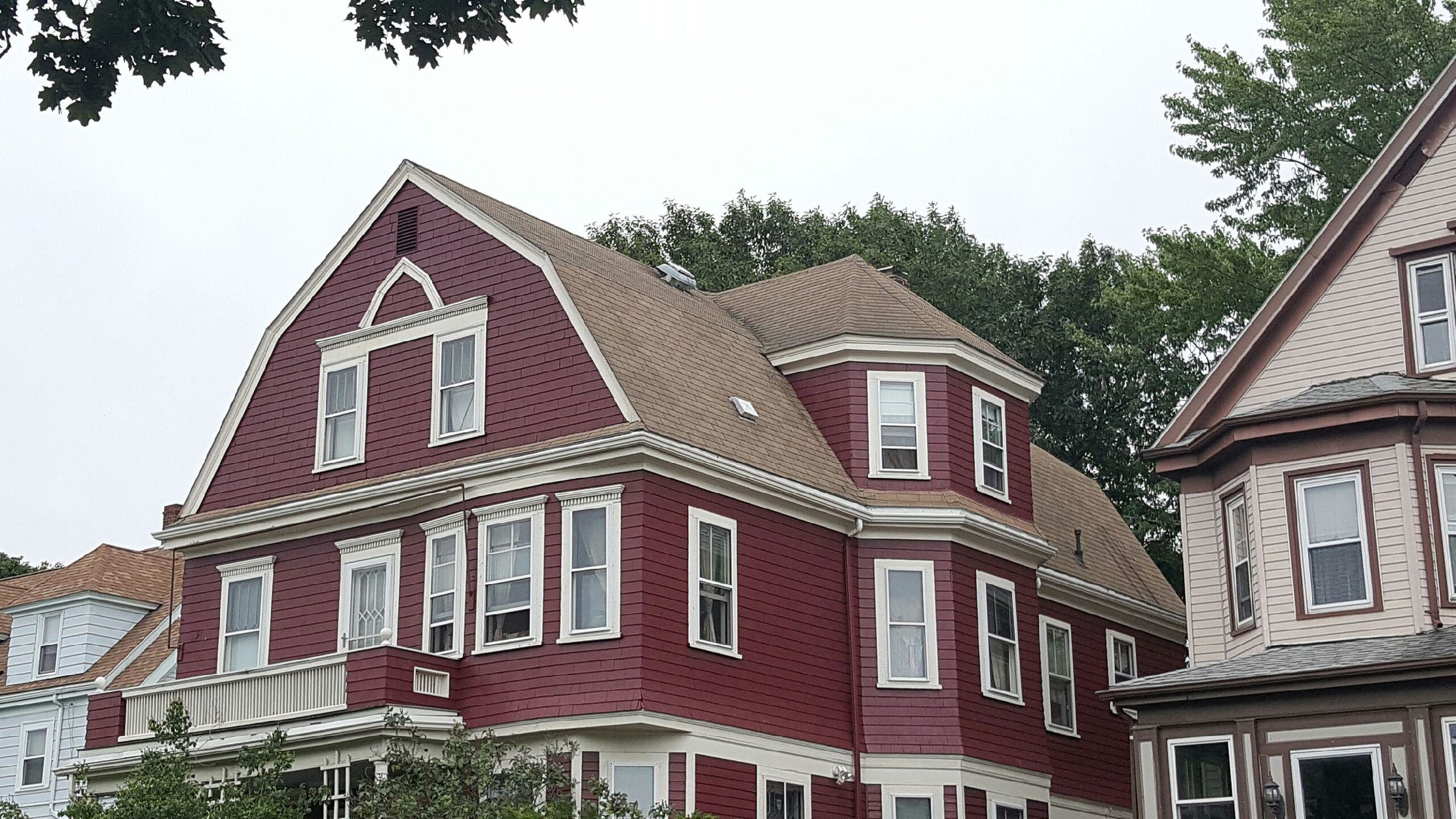 Black Metal Roof in Somerville - Before