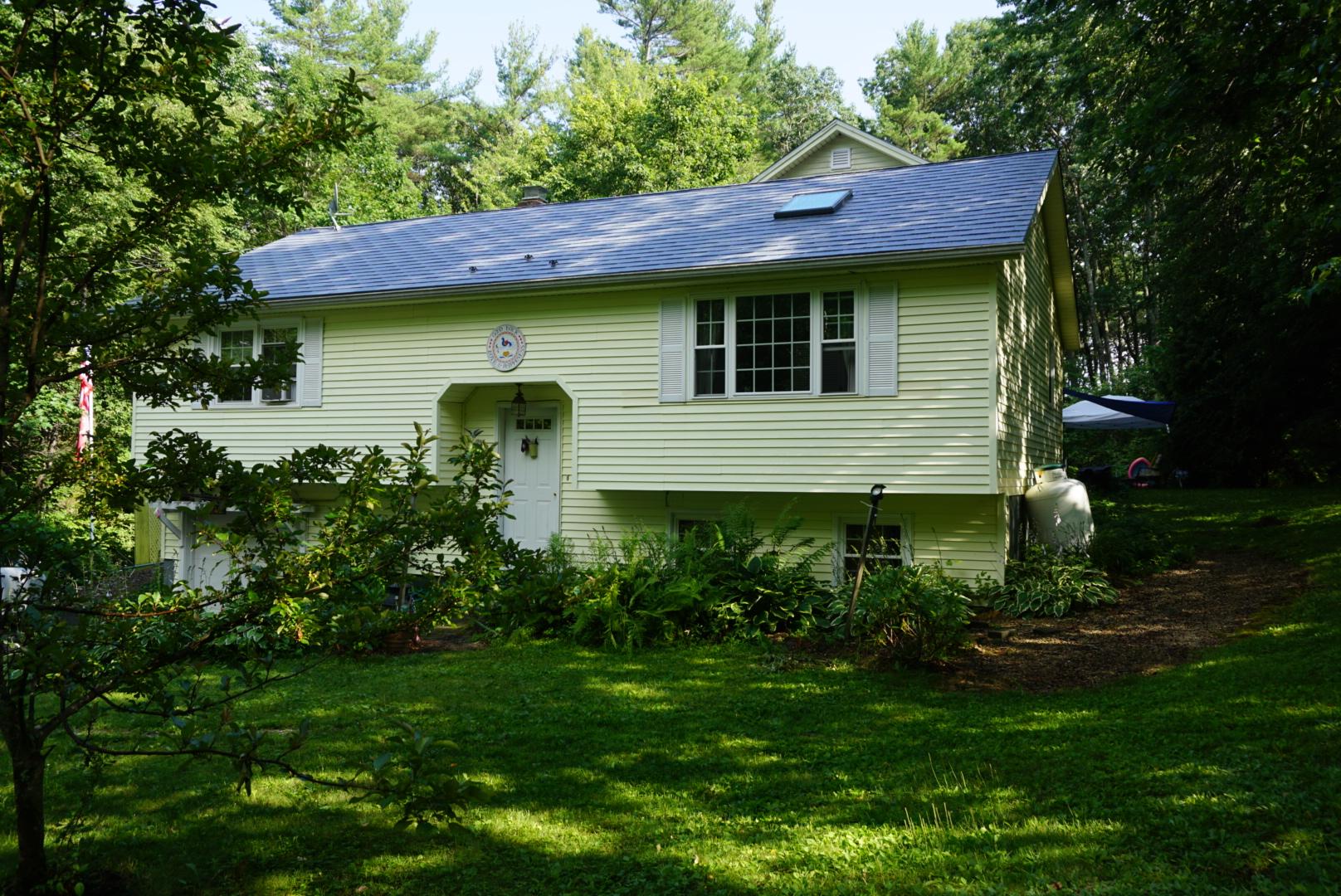 Dawn Gray Metal Roof in Rindge, NH