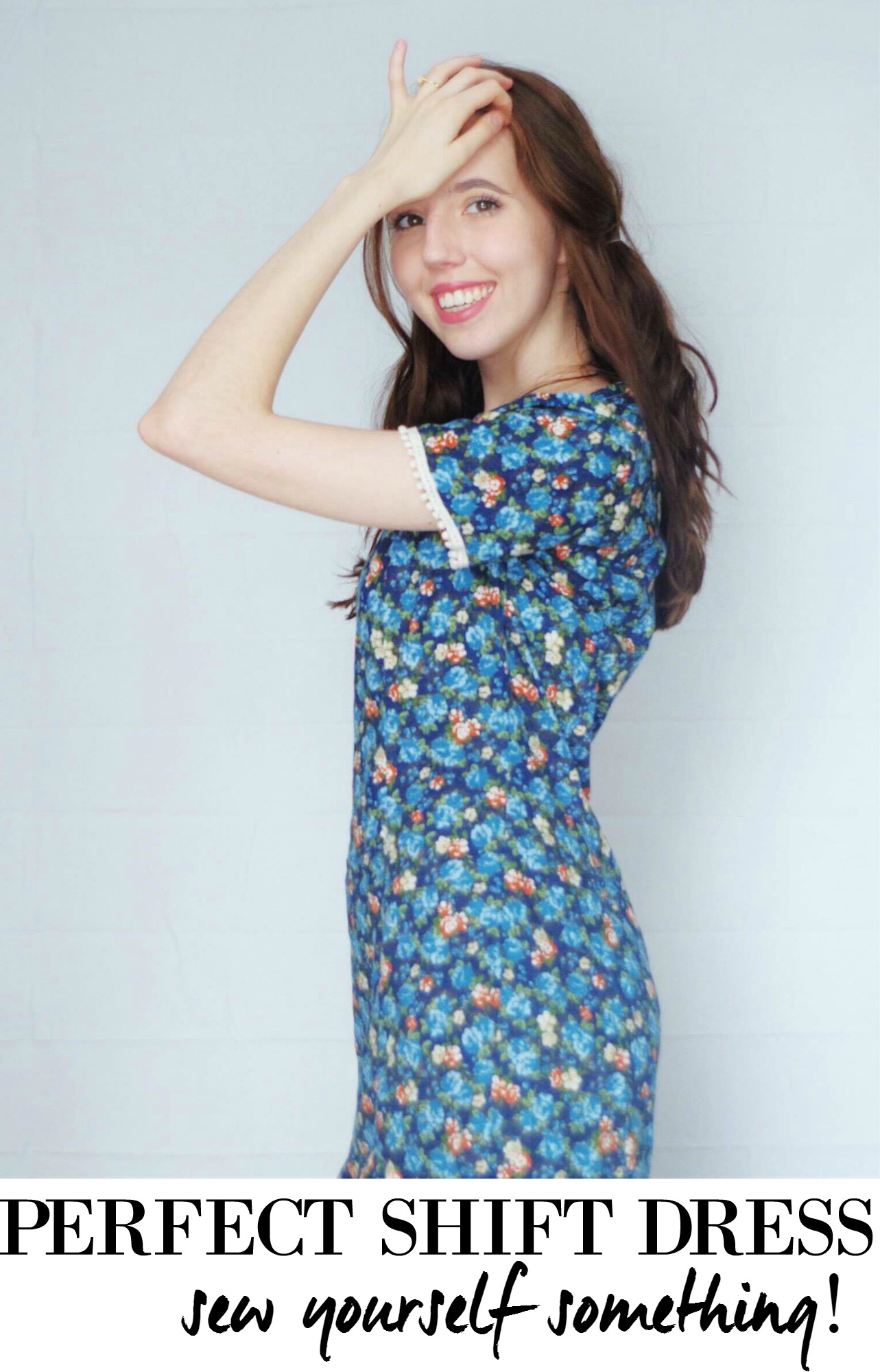 The perfect little shift dress pattern to complete your wardrobe! It's a steal, costing less than $5!